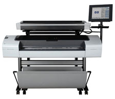 Plotter HP Designjet T1200-HD